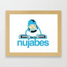Nujabes - Blue Beats Framed Art Print