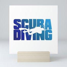 Scuba Diving Mini Art Print