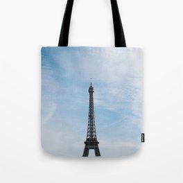 Blue Skies in Paris Tote Bag