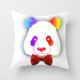 A Stirking Panda Throw Pillow