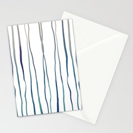 Branch-like Watercolour Lines - Original Colour Stationery Cards