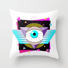 The All-Seer Throw Pillow