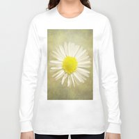 daisy Long Sleeve T-shirts featuring Daisy by Pauline Fowler ( Polly470 )