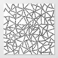 dots Canvas Prints featuring Dots by Project M