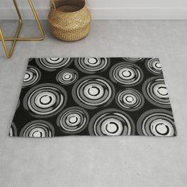 Enso Circles - Zen Circles pattern #2 Rug