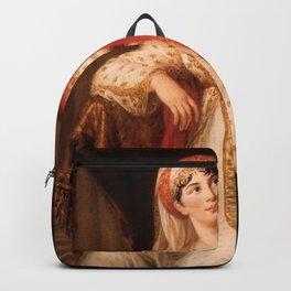 Elisabeth Louise Vigee Le Brun - Giuseppina Grassini Playing Zaire Backpack