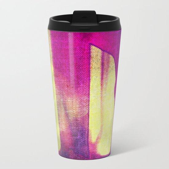 Amber: Fabric Metal Travel Mug