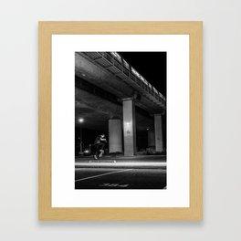 Rockridge No-Comply Kickflip Framed Art Print