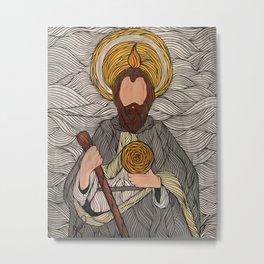 Saint Jude Thaddeus Metal Print