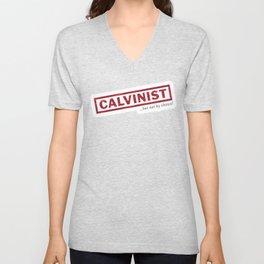 Calvinism Unisex V-Neck
