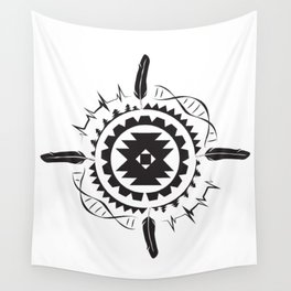 Native Amrican STEM Mandala Southwestern Wall Tapestry