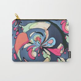 Colorful abstract shapes Carry-All Pouch
