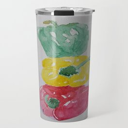 Stacked Peppers Travel Mug