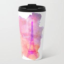 Je t' Aime Paris  Travel Mug