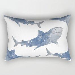 The World is Full of Sharks Rectangular Pillow