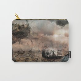 Abandoned Theme Park: Matte Painting Carry-All Pouch