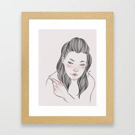 Are you gonna break my heart? Framed Art Print
