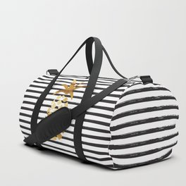 Pineapple & Stripes Duffle Bag