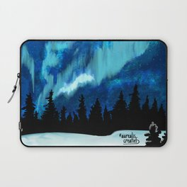 Northern Lights in Canada Laptop Sleeve