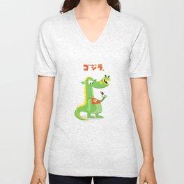 Godzilla! Unisex V-Neck