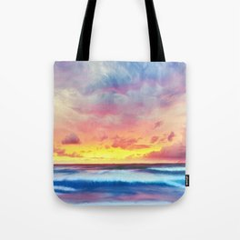 Lonas planet stormy evening Tote Bag