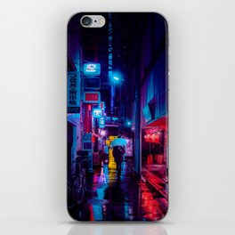 Tokyo Nights / Minutes To Midnight / Liam Wong iPhone Skin