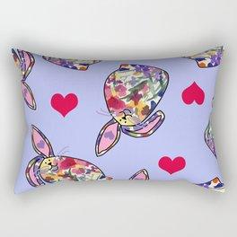 Bunny Love Rectangular Pillow