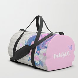 "VIOLIN by collection ""Music"" Duffle Bag"