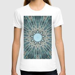 Ocean Seawave Glass Mandala T-shirt