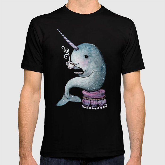 Narwhal Teatime T-shirt