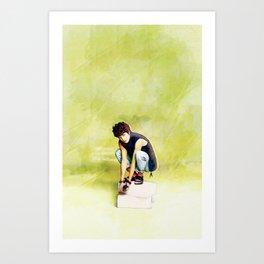 Infinite Nam Woohyun Art Print
