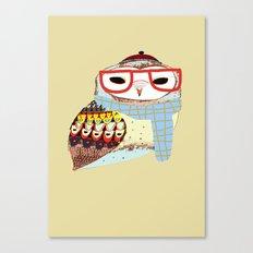 Snug Owl Canvas Print