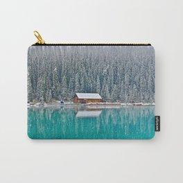 idyllic winter scene #society6 #decor #buyart Carry-All Pouch