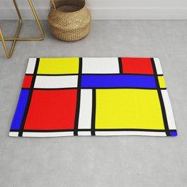 Mondrian 4 #art #mondrian #artprint Rug