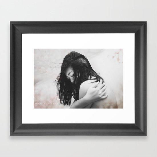 Tears From the Skies Framed Art Print