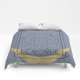 The World or Le Monde Tarot Comforters