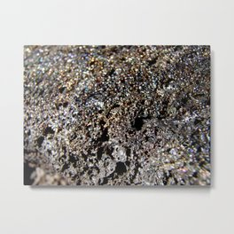 Lava Rock Metal Print