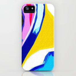 Rainbow Lava iPhone Case