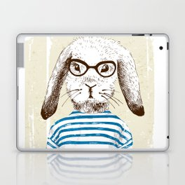 Hipster Rabit with Style Laptop & iPad Skin