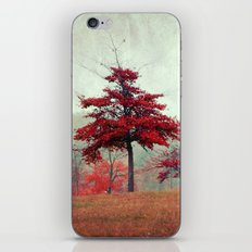 rosso iPhone Skin