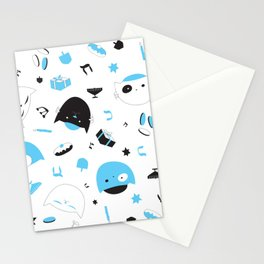 Hannukats White Stationery Cards