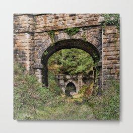 Mierystock Bridge and Tunnel Metal Print