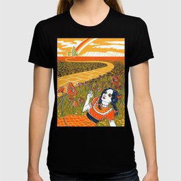 Dorothy in the Poppy Field T-shirt