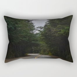 Icy Road Rectangular Pillow