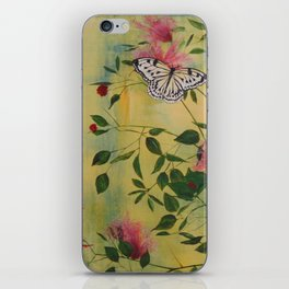 Rice Paper Butterfly iPhone Skin