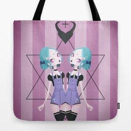 Pastel Goth Tote Bag