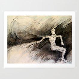 """""""Snow Field"""" Art Print"""