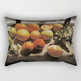 Sunny Still Life Rectangular Pillow