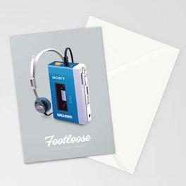 Footloose - Alternative Movie Poster Stationery Cards
