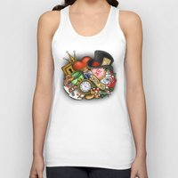alice in wonderland Tank Tops featuring Wonderland  by Katie Simpson a.k.a. Redhead-K